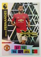 2020/21 Panini Adrenalyn EPL Soccer Card - Bruno Fernandes Limited Edition ManU