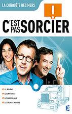 20157// DVD C'EST PAS SORCIER - LA CONQUETE DES MERS NEUF DEBALLE 4 X 26 MIN
