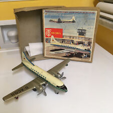 RARE TIPPCO TIN FRICTION DRIVEN WITH B/O LIGHTS LUFTHANSA PLANE W. GERMANY, BOX