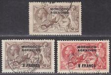 Morocco Agencies 1917-36 KGV Seahorse Selection Used