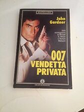 JOHN GARDNER 007 VENDETTA PRIVATA BUONO!!!