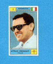 CAMPIONI SPORT 1969-70-PANINI-Figurina n.3- PRONZATI -ITALIA-AERONAUTICA -Rec