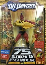 """DC Universe Classics TYR  6"""" Figure WAL-MART Exclusive Super Powers Stand Mattel"""