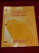 Geometry: An Integrated Approach : Warm-Up Exercises (1998, Paperback)