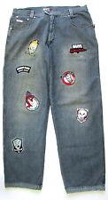Marvel Comics Johnny Blaze Denim Jeans Pants Spiderman Ghost Rider Size 40x32