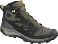 SALOMON Outline Mid Gore-Tex L404763 Outdoor Hiking Trekking Trainers Boots Mens