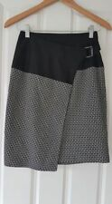 VERONIKA MAINE Faux Wrap Skirt SIZE 6