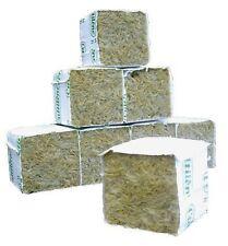 GRODAN 4x4x4 cm cubo cube rockwool lana roccia idroponica 100 pezzi pcs talee g