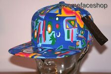 BLUE BASEBALL SUPREME AZTEC SNAPBACK CAPS, FRESH PRINCE FLAT PEAKS FITTED HATS
