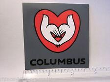 """3"""" Columbus Frame Road Tri Tubes Tt Ride Car Mountain Bike Bicycle Decal Sticker"""