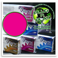 440 ml MAGENTA 100% Roland Eco Sol Max Compatible Solvent Ink Werx Cartridge