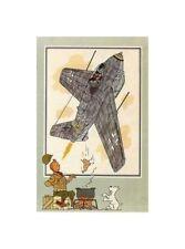 HERGé/TINTIN 195x  CHROMO L AVIATION 1939/45  N°53 BE+