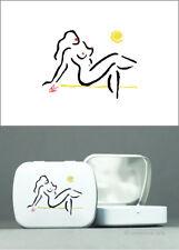JACQUELINE DITT - Tin Box Hot Girl ltd. - 25 Jahre uva Dose Grafik Minzbonbons