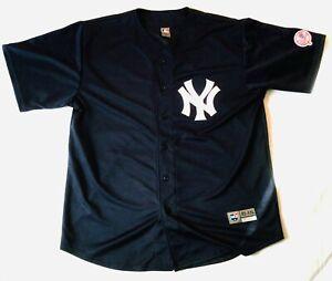 NEW YORK YANKEES Baseball MLB Official Jersey Shirt Mens Size XXL Free Post U