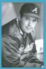Greg Maddux (1993) Atlanta Braves Vintage Baseball Postcard PP00663