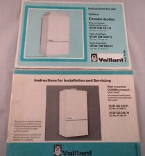 Vintage Vaillant Boiler Instruction and Installation and Servicing Manuals