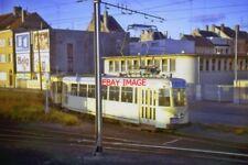 PHOTO  SNCV BELGIAN COASTAL TRAMWAY OOSTENDE AUG1964
