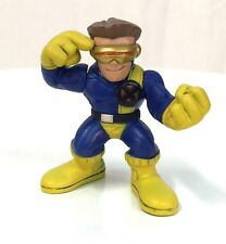 Marvel Super Hero Squad CYCLOPS Variant Gold Visor Black X-Men Emblem b