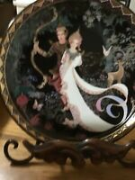 """The Magic Bow"" The Love Story Of Siam Bradford Exchange Collector Plate"