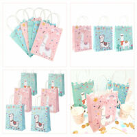5×Llama Party Candy Treat Gift Bags for Kids Birthday Party Bags Loot Gift Bag