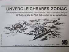 6/1980 PUB ZODIAC CANOT PNEUMATIQUE INFLATABLE COMMANDO ORIGINAL GERMAN AD