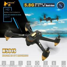 Hubsan H501S X4 5.8G FPV 10CH Brushless RC Quadcopter 1080P HD Camera GPS BLACK