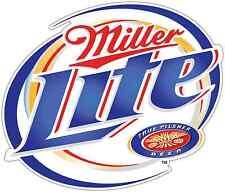 """Miller Light Beer Alcohol Car Bumper Window Locker Sticker Decal 5""""X4"""""""