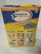 Hooked On Things That Go age 3-5 by Hooked On Phonics new set kids
