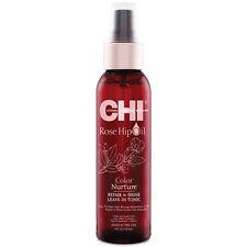 CHI ROSE HIP OIL COLOR NURTURE REPAIR & SHINE LEAVE-IN TONIC 4 OZ / 118 ML
