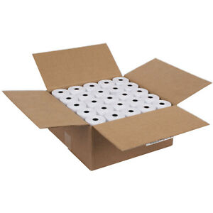 3 1/8 x 230' Thermal Paper Roll, For Cash Register POS 25 Rolls