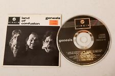 GENESIS Land Of Confusion CD Single 1986 SNEG 3-12