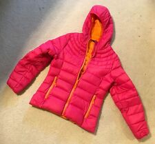 Girl's Down Jacket Coat Size Sz Large 14 16 Down Puffer