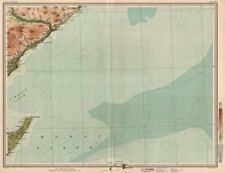 MORAY FIRTH Brora Clynelish Whisky Distilleries Dornoch Firth. LARGE 1912 map