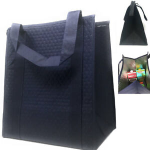 1 Dozen Thermo Insulated Grocery Shopping Bags Lunch Cooler Box Wholesale Bulk