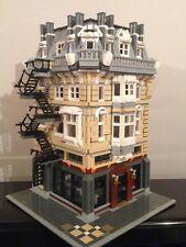 Custom Lego Modular Building Apartment&Bar 10185 10182 10211