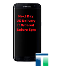 SAMSUNG GALAXY S7 EDGE SM-G935F SCREEN AND DIGITIZER ASSEMBLY - BLACK