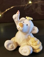 Honey Bear Necessities Collectable Figurine Shabby Chic Distressed Finish Gift