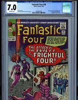 Fantastic Four #36 CGC 7.0 1965 Marvel Comic Amricons 1st Medusa K18