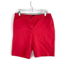 Talbots The Perfect Short Womens Size 10P Petite Pink Seersucker