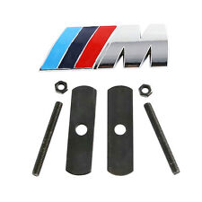 for BMW ///M front gille grill emblem M badge sticker car metal decal M3 M4 M5