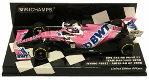 Minichamps Racing Point F1 RP20 #11 Austrian GP 2020 - Sergio Perez 1/43 Scale