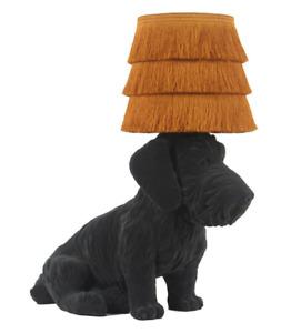 NEW - Abigail Ahern/EDITION - Black 'Delilah The Dachshund' Table Lamp