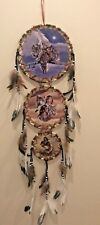 Free Shipping! 3 Tier Dream Catcher 3 Canvas Pictures Indians, Animals, Eagle