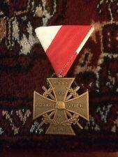 Rare WW2 Original German Helmat Volk Army Wehrmacht 1939-1945 War Medal Military