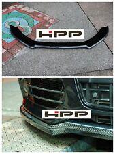 09-11 Audi S4 B8 S-Line Bumper only S Style Front bumper lip Carbon fiber CF