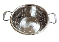 High quality Stainless Steel Colander Strainer Washing Vegetables Kitchen Gadget