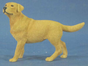 Labrador retriever figur  hund leonardo hundefigur  alabaster dog