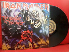 IRON MAIDEN The Number Of The Beast LP NMINT PORTUGAL 82 11C 078-0760 RARE PRESS