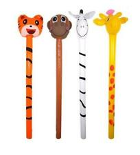 Inflatable Jungle Animals Stick 118cm Assorted Designs