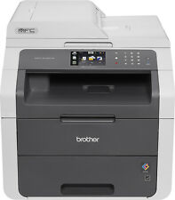 Brother - MFC-9130CW Color Wireless Laser Printer - Gray